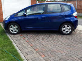 Honda Jazz, 2010 (10) Blue Hatchback, Manual Petrol, 79,960 miles