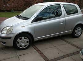 Toyota Yaris, 2004 (04) Silver Hatchback, Manual Petrol, 55,647 miles