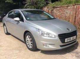 Peugeot 508, 2011 (61) Silver Saloon, Manual Diesel, 125,000 miles