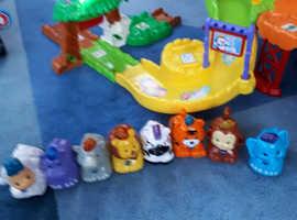 VTech Zoo, Disney Cars, Talking Garage etc
