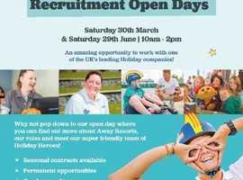 Away Resorts Sandy Balls Recruitment Open Days!