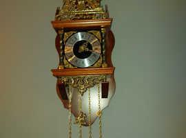 Danish pendulum stiking bell clock