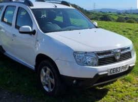 Dacia Duster, 2013 (63) White Hatchback, Manual Diesel, 113,407 miles
