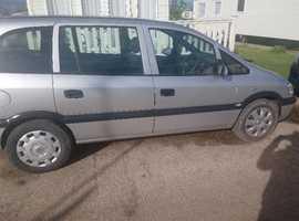Vauxhall Zafira, 2005 (05) Silver MPV, Automatic Petrol, 121,000 miles