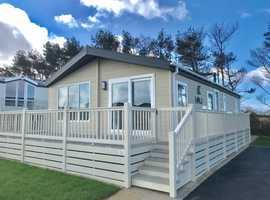 Luxury Lodge Holiday Home for sale, 12 month season, owners only, Perranporth, Newquay, Cornwall