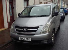 Hyundai i800, 2011 (60) Silver MPV, Manual Diesel, 203,457 miles.