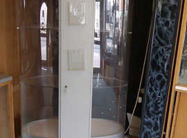 Retail Display Cabinet Illuminated Oval