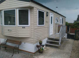 DOUBLE GLAZED WILLERBY 10by 36ft. 2011 model one large double bedroom