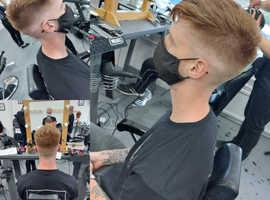 FREE MENS HAIR CUT AND BEWRD TRIM