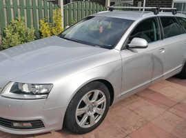Audi A6, 2009 (09) Silver Estate, Manual Diesel, 117,000 miles