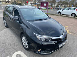 Toyota Auris, 2017 (66) Black Estate, Cvt , 94,000 miles FREE DELIVERY