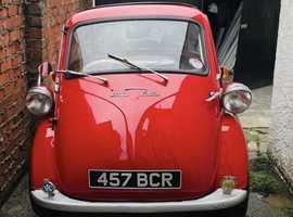 1962 Red BMW Isetta