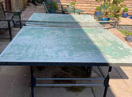 Free butterfly outdoor table tennis table