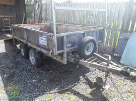 One owner ifor Williams lt85g 2000kg dropside with 6ft ramps trailer