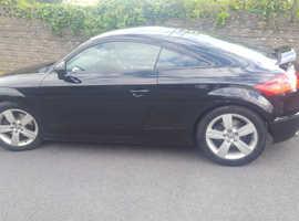 Audi TT, 2009 (59) Black Coupe, Manual Diesel, 88,000 miles