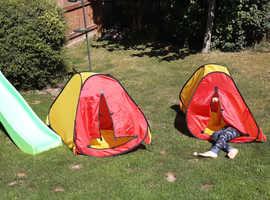 Toddler play tent
