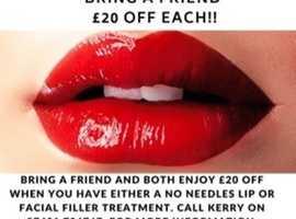 No Needle Lip Fillers
