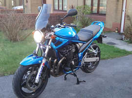SUZUKI BANDIT 650 with only 6493 miles