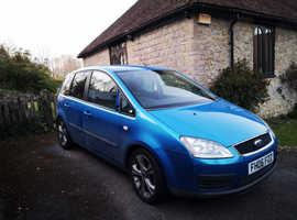 Ford C-Max, 2006 (06) Blue MPV, Manual Diesel, 98,000 miles