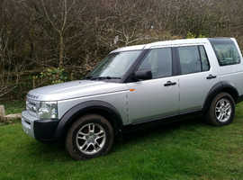 Land Rover Discovery, 2005 (55) Silver Estate, Manual Diesel, 197,000 miles