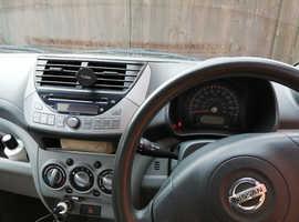 Nissan Pixo, 2009 (59) Grey Hatchback, Manual Petrol, 34,556 miles