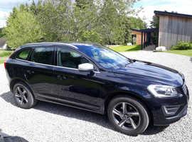 Volvo XC60, R-Design LUX NAV, 2014 (64), Black, Auto Geartronic, D5 Diesel, 57,000 miles