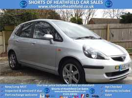 2003/53 Honda Jazz 1.4i-DSi CVT-7 SE Sport Automatic - Low Mileage
