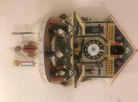 Royal marine teddy bear cuckoo clock