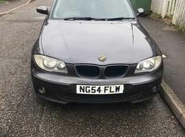 BMW 1 series, 2005 (54) Grey Hatchback, Manual Diesel, 158,337 miles