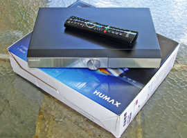HUMAX DTR-T2000 FREEVIEW 500GB HD RECORDER. BOXED & PERFECT!