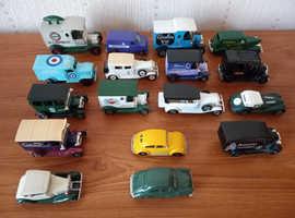 Job lot 17 cars