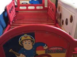 Fireman Sam Cot bed