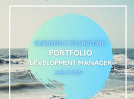 Surf Board Optional - Portfolio Development Manager Needed