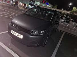 Volkswagen Touran, 2014 (14) Grey MPV, Manual Diesel, 72,000 miles
