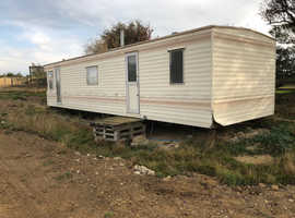 Willerby Static Caravan 40ft x 10ft standard size FREE!