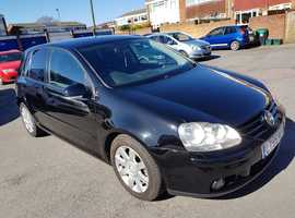 Volkswagen Golf MK5 2.0 GT TDI 140, 6 speed manual  2005 (55) Black Hatchback,  Diesel, 105,000 miles