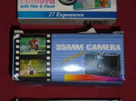 New & Boxed 35mm Film Cameras (price per camera)