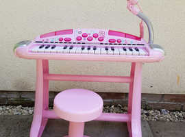 Superstar Keyboard and Stool