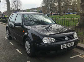 Volkswagen Golf, 1998 (S) Black Hatchback, Manual Petrol, 88,179 miles