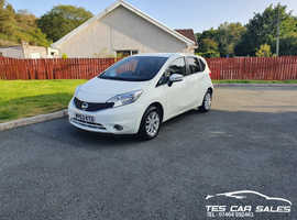 Nissan Note, 2013 (63) White MPV, Manual Petrol, 47,000 miles