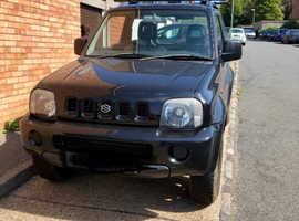 Suzuki Jimny, 2003 (03) Black Estate, Manual Petrol, 77,749 miles