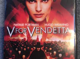 V for Vendetta DVD