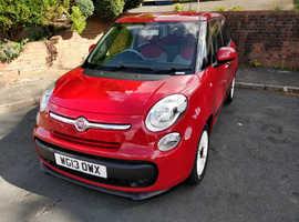 Fiat 500l, 2013 (13) Red MPV, Manual Petrol, 53,000 miles