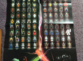 Lego Star Wars limited edition collector's poster 2011. Unused