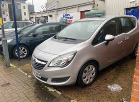 Vauxhall Meriva, 2014 (64) Silver MPV, Automatic Petrol, 64,234 miles