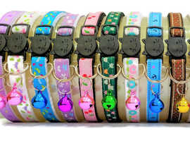 ZACAL Cat Collars, Kitten Collars (Handmade in the UK)