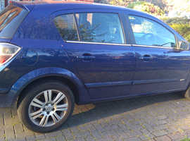 Vauxhall Astra, 2008 (08) Blue Hatchback, Automatic Diesel,
