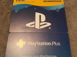 Playstation plus 3 Month online Pass