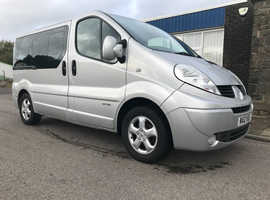 Renault Trafic Sport Automatic 5 seats 1 lady owner.