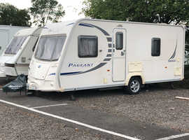 Bailey Pageant Bordeaux Series 7 Registered 2009, 4 Berth, Fixed bed, Just serviced